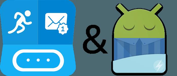 Chránené heslom: Sleep as Android funguje už aj s aplikáciou Notify & Fitness for Mi Band